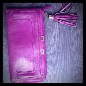 DANIER hot pink wallet